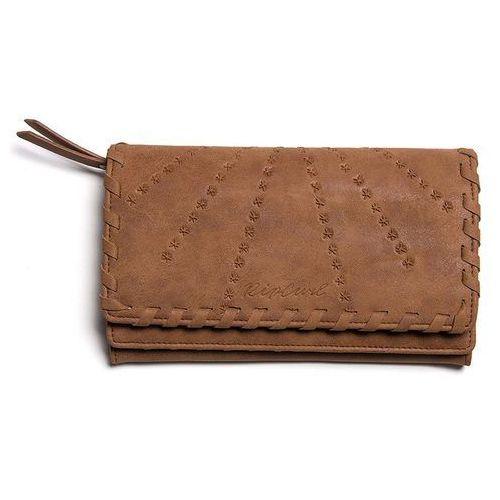 Portfel - lotus cheque book wallet vintage tan (4689) rozmiar: os marki Rip curl