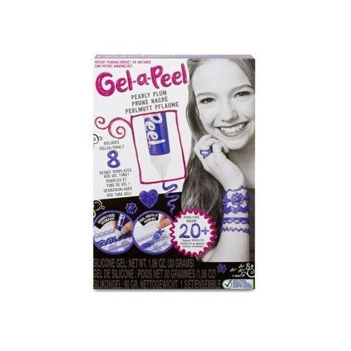 Gel-a-peel zestaw podstawowy perłowy fiolet marki Mga