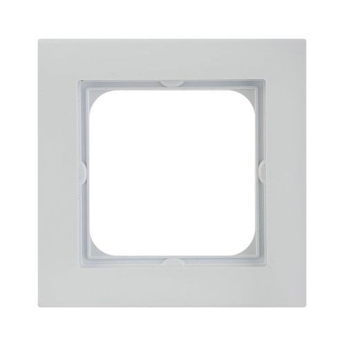 Ramka pojedyncza SONATA OSPEL, kolor srebrny