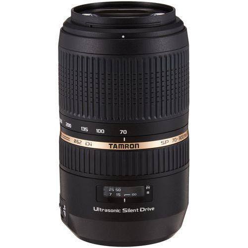 Obiektyw Tamron 70-300 mm f/4-5. 6 Di VC USD (Sony) + Velbon Monopod UP-400, A005 S