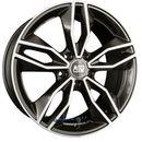 msw 71 gloss dark grey full polished einteilig 8.50 x 19 et 38 marki Msw