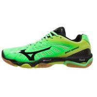 Mizuno WAVE MIRAGE Obuwie do piłki ręcznej neon green/black/lime punch (5051686882225)