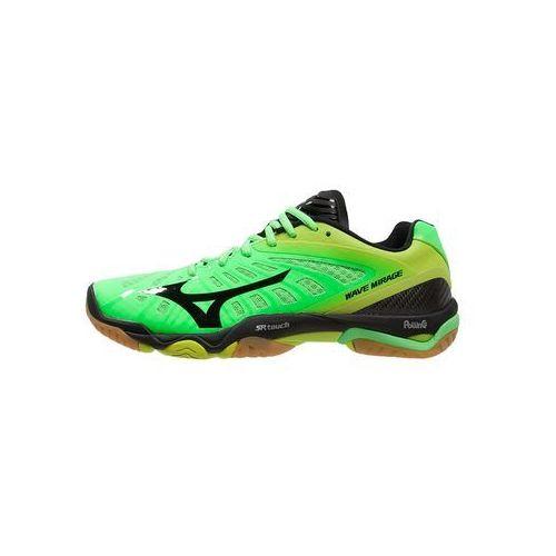 Mizuno WAVE MIRAGE Obuwie do piłki ręcznej neon green/black/lime punch (5051686882287)
