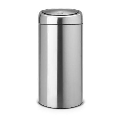 Brabantia - kosz 'touch bin®' de luxe - wiaderko plastikowe - 45l - stal matowa fpp