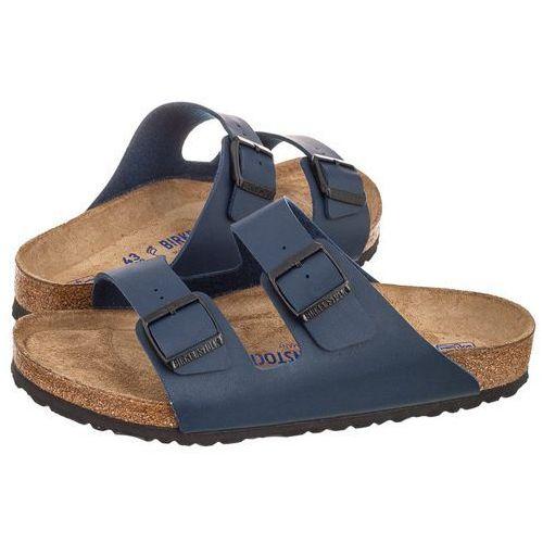Klapki Birkenstock Arizona BS Soft Footbed Blue 051061 (BK66-b), w 4 rozmiarach
