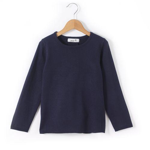 Sweter z okrągłym dekoltem z kształcie trapezu 3-12 lat