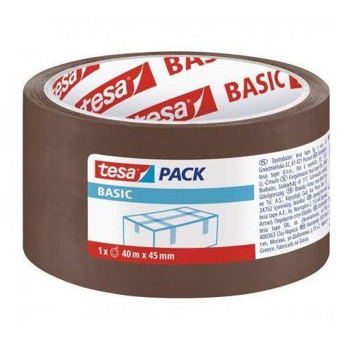 Taśma pakowa tesa 45mm*40m akryl brązowa, X02658