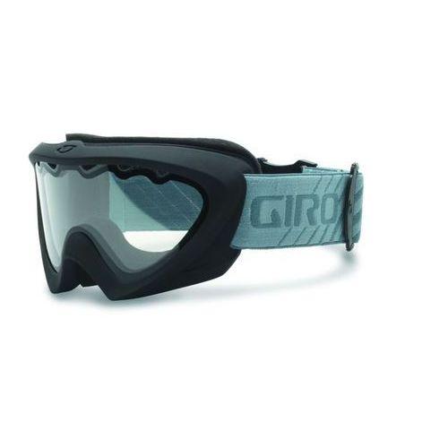 Giro Gogle narciarskie adler matte black/black strobe/clear [zobacz zdjęcia 360°]