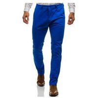Spodnie chinosy męskie niebieskie denley 6807 marki M.sara