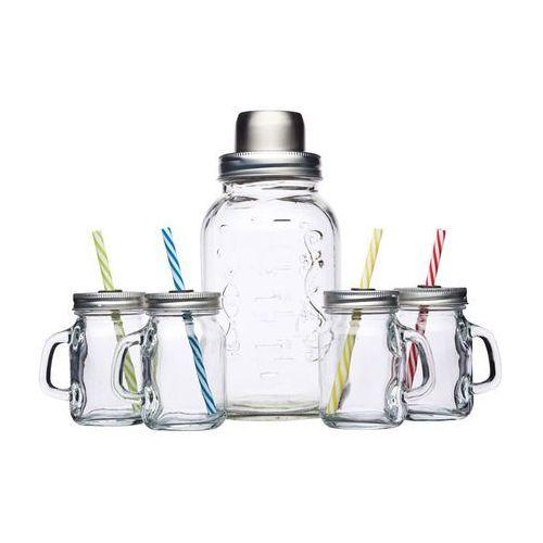 Shaker szklany z czterema mini słoiczkami z uchwytem - marki Kitchen craft