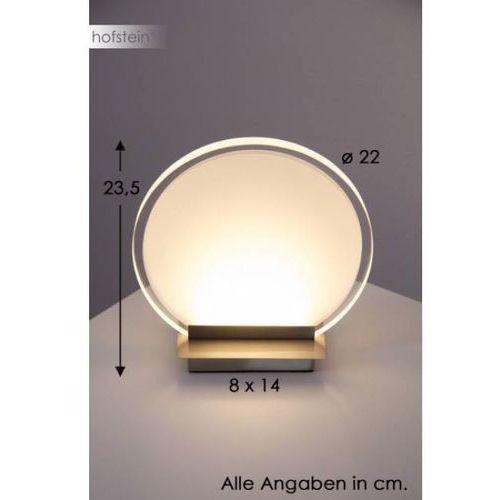 Honsel Forma lampa stołowa Nikiel matowy, 1-punktowy (4001133521918) - OKAZJE