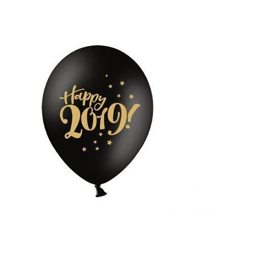 Balony happy 2019! - 30 cm - 5 szt. marki Party deco