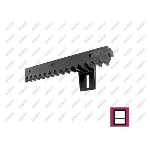Listwa zębata PVC PVC+Fe,27x20mm,L0,33m,max 700kg