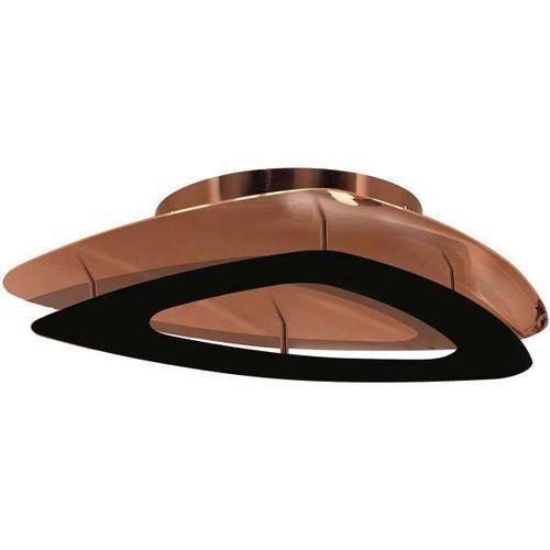 Plafon LAMPA sufitowa MIRADA 0363 Milagro metalowa OPRAWA LED 24W miedziany