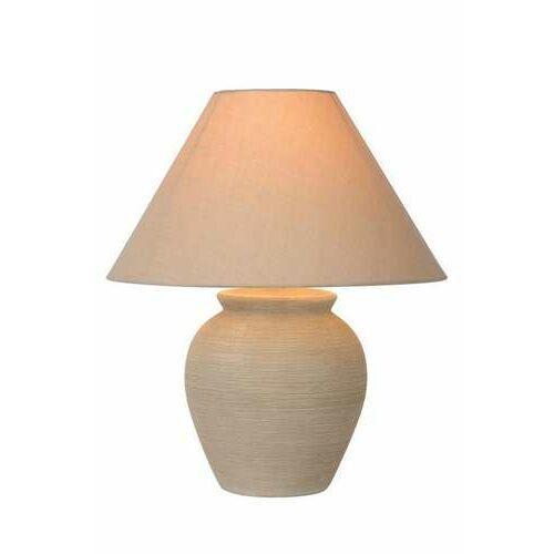 Lucide Ramzi 47507/81/38 lampa stołowa lampka 1x60W E27 kremowa (5411212470201)