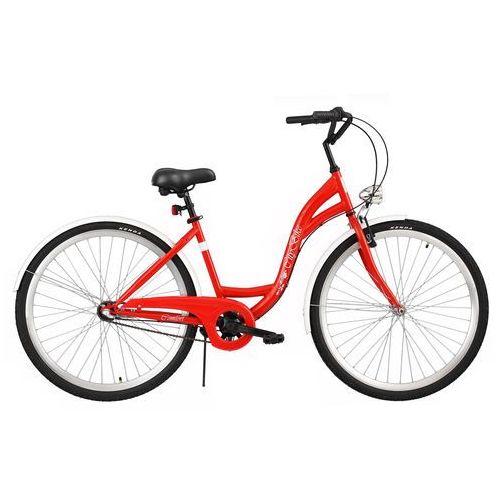 Dawstar Rower  citybike s3b czerwony + darmowy transport! + zamów z dostawą jutro! + 5 lat gwarancji na ramę!