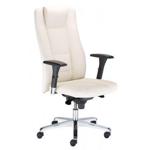 Fotel gabinetowy INVITUS r17m steel36 chrome - biurowy, krzesło obrotowe, biurowe
