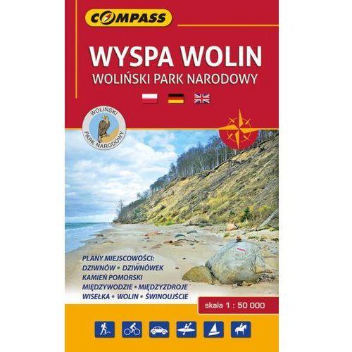 Wyspa Wolin Woliński Park Narodowy mapa turystyczna 1:50 000, Compass