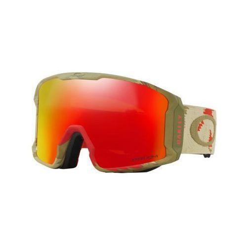 gogle snowboardowe OAKLEY - Carlson Lm Razor Camo Red W/Prizm Torch (32) rozmiar: OS