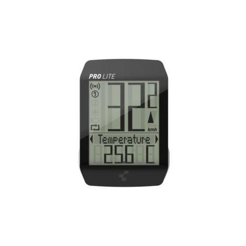 Cube PRO LITE Licznik rowerowy czarny 2018 Liczniki bezprzewodowe
