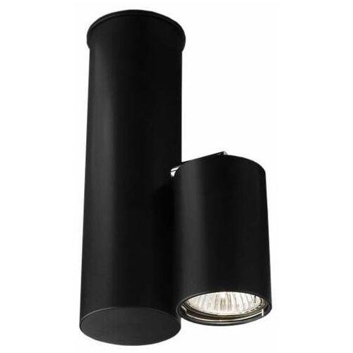 Spot LAMPA sufitowa SHIMA 2201 Shilo metalowa OPRAWA do łazienki okrągła czarny, kolor biały;czarny