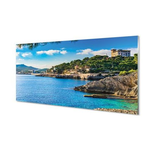 Obrazy akrylowe Hiszpania Morze wybrzeże góry