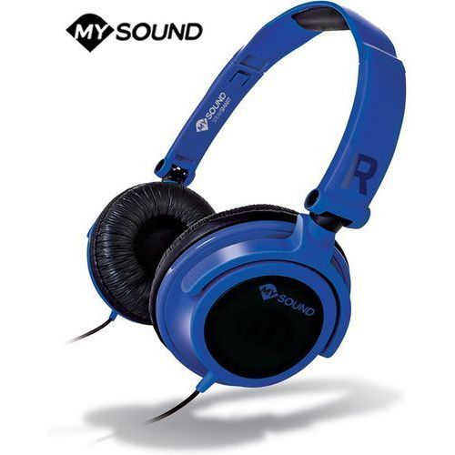 Słuchawki z mikrofonem Meliconi Speak Smart Fluo Niebieskie (497438BA) Darmowy odbiór w 21 miastach!
