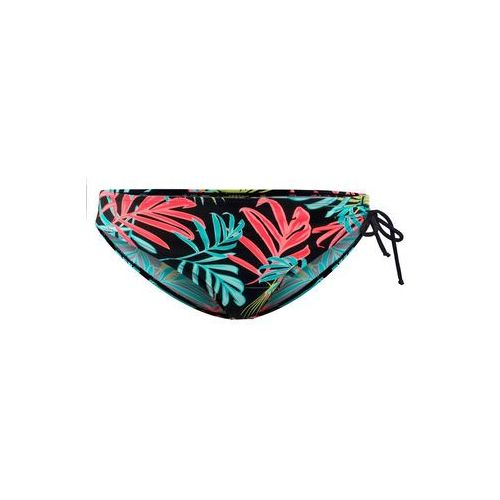 Figi bikini bonprix czarny z nadrukiem, poliamid