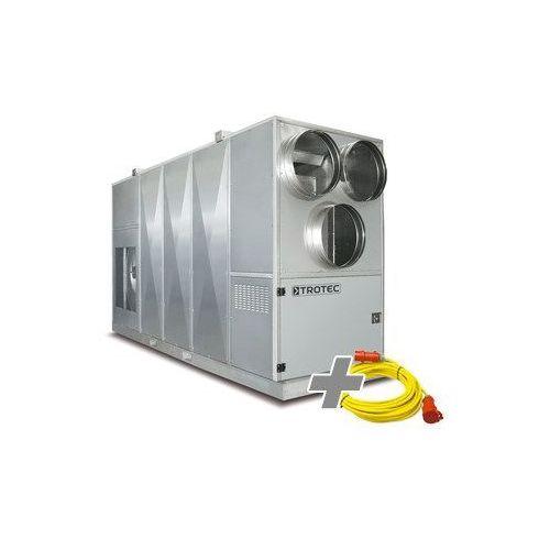 Centrala ogrzewania olejowego id 2000 + przedłużacz profi 20 m / 400 v / 2,5 mm² marki Trotec