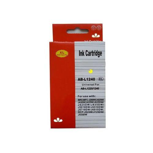 zastępczy atrament Brother [LC-1240Y] yellow 100% nowy