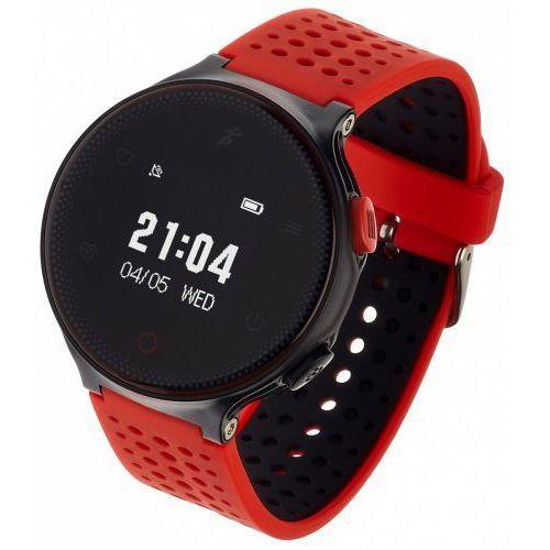 smartwatch zegarek sportowy sport 21 czerwony marki Garett electronics