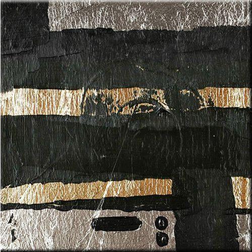 "obrazy nowoczesne ""silver&black"" 100x100cm"