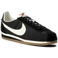 Buty - classic cortez nylon prem 876873 002 black/sail/gum light brown, Nike, 44-47
