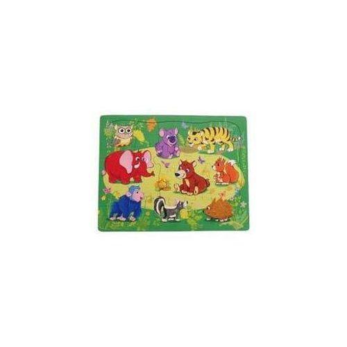 Playme Układanka puzzle safari (5907791581709)