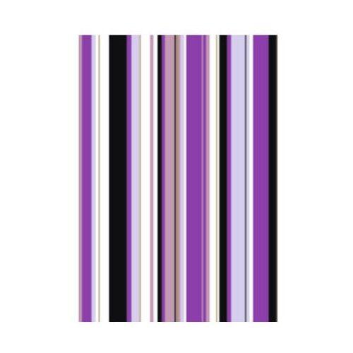 Heyda Karton  300g 50x70 w paski - 35 fioletowe
