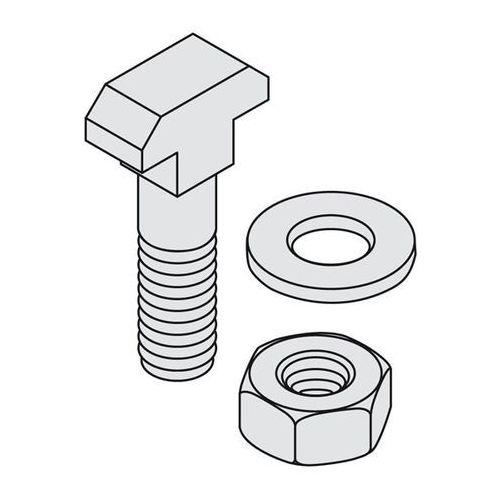 Zestaw montażowy, do zamontowania na wspornikach, po 50 śrub, tarcze, nakrętki. marki Bito-lagertechnik