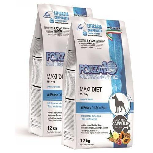 Forza10 Forza 10 maxi diet, ryba - 2 x 12 kg (8020245011755)