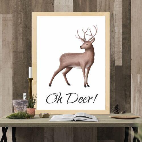 Plakat oh deer 042