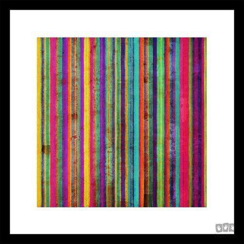 Obraz w ramie Kolorowe pasy 41-321