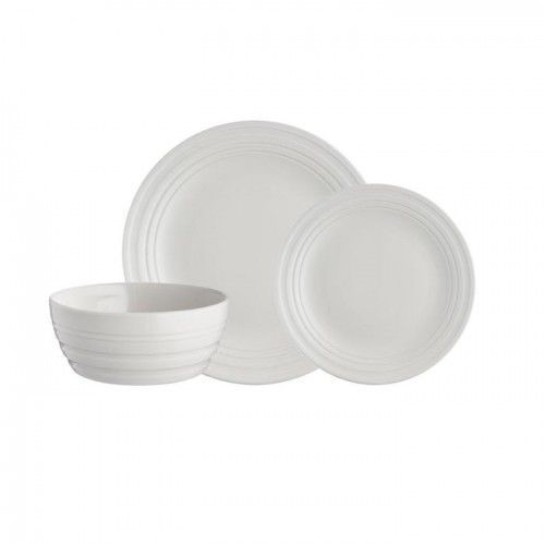 Zestaw obiadowy Mason Cash 12el. dla 4 osób - Original Cane biały