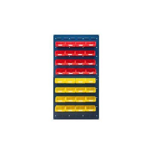 Zestaw otwartych pojemników magazynowych,do 2 paneli o wys. x szer. 480 x 500 mm marki Vipa
