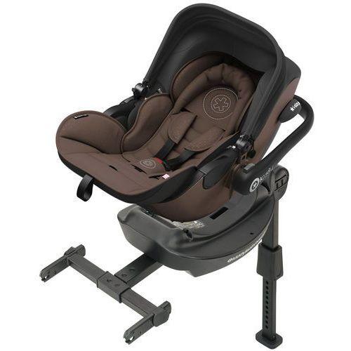 Kiddy evoluna i-size (0-13 kg) fotelik samochodowy + baza isofix 2017 – nougat brown (4009749352100)
