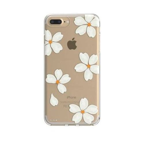 Etui FLAVR iPlate White Petals do Apple iPhone 6 Plus/7 Plus/6s Plus/8 Plus Wielokolorowy (30040) (4029948065830)