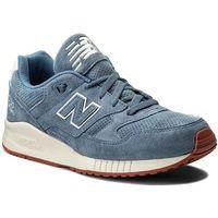 Sneakersy NEW BALANCE - M530VCB Niebieski, kolor niebieski