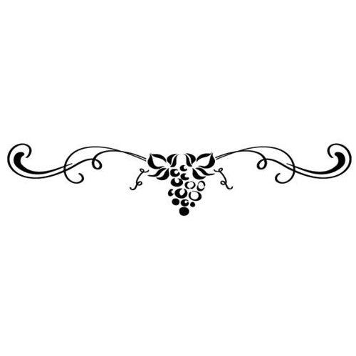 Szabloneria Szablon malarski z tworzywa, wielorazowy, wzór flora 339 - pod słońcem toskanii