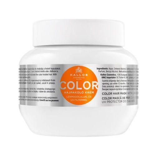 KALLOS 275ml Color Maska do włosów farbowanych