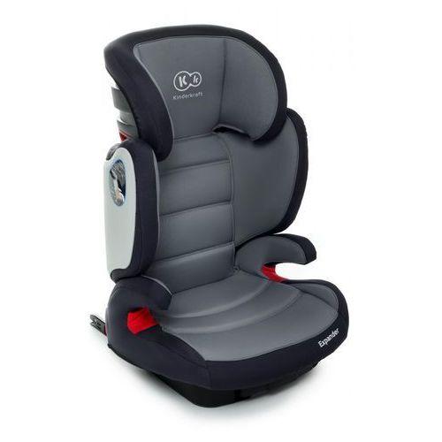 Kinderkraft Fotelik samochodowy  expander z systemem isofix szary + darmowy transport!