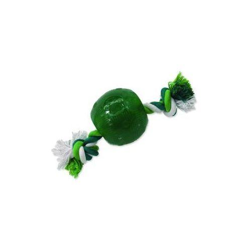 Plaček Zabawka dog fantasy strong mint piłeczka gumowa na sznurze zielona 9,5 cm