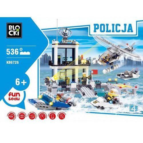 Klocki Blocki Policja Komenda 631 elementów