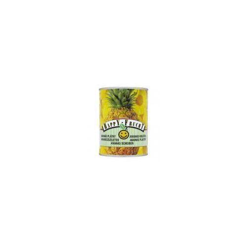 Vog Ananas plastry happy frucht 565 g (9001466301275)
